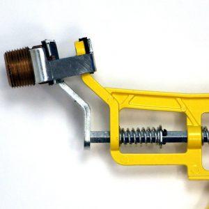 Sheared head attachment for Shutgun water sprinkler shut off tool