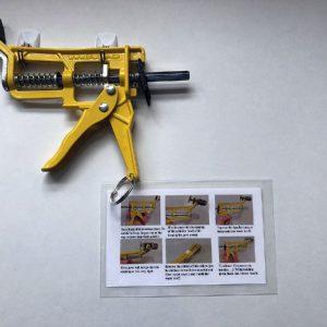 Shutgun mounted on wall